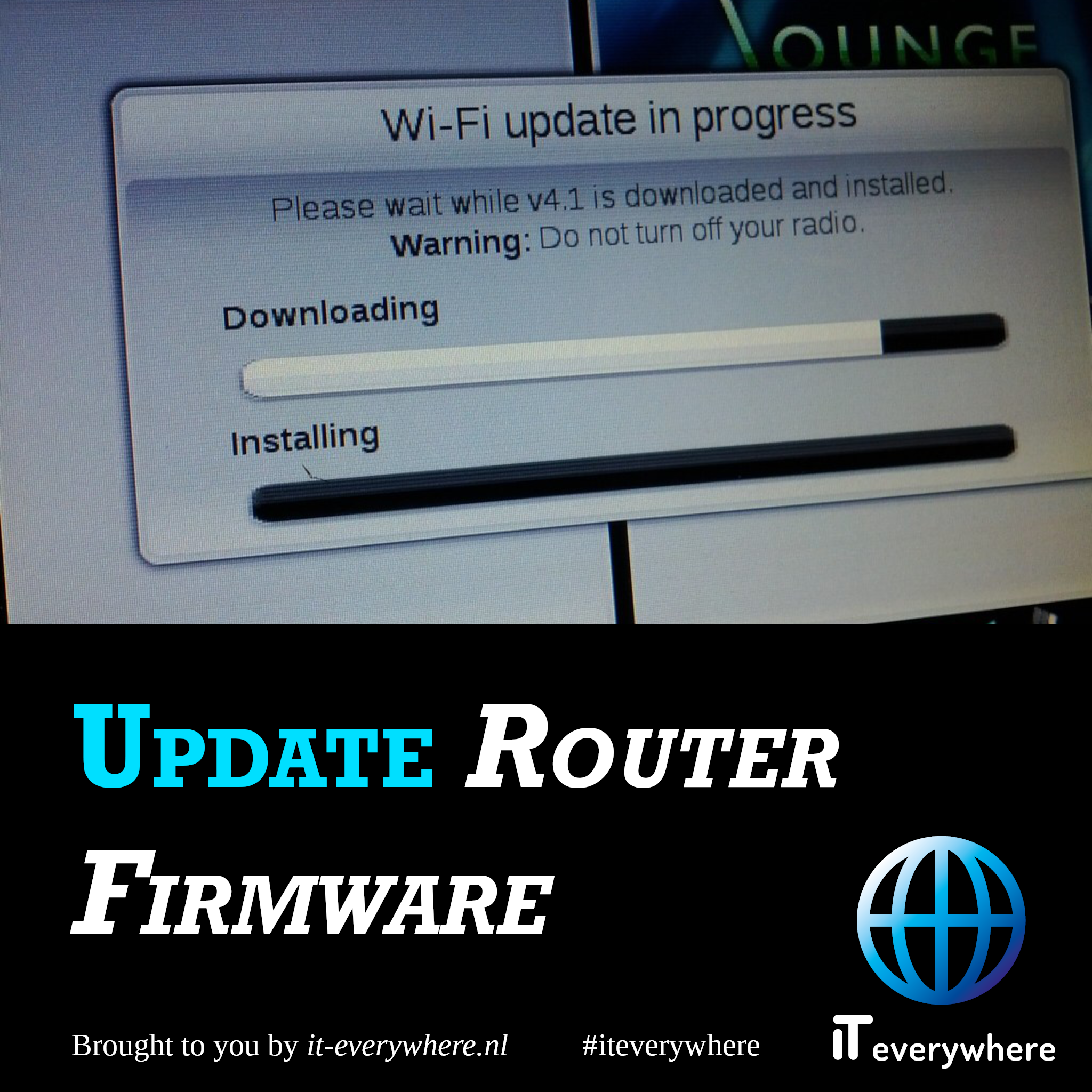 Update router firmware/software