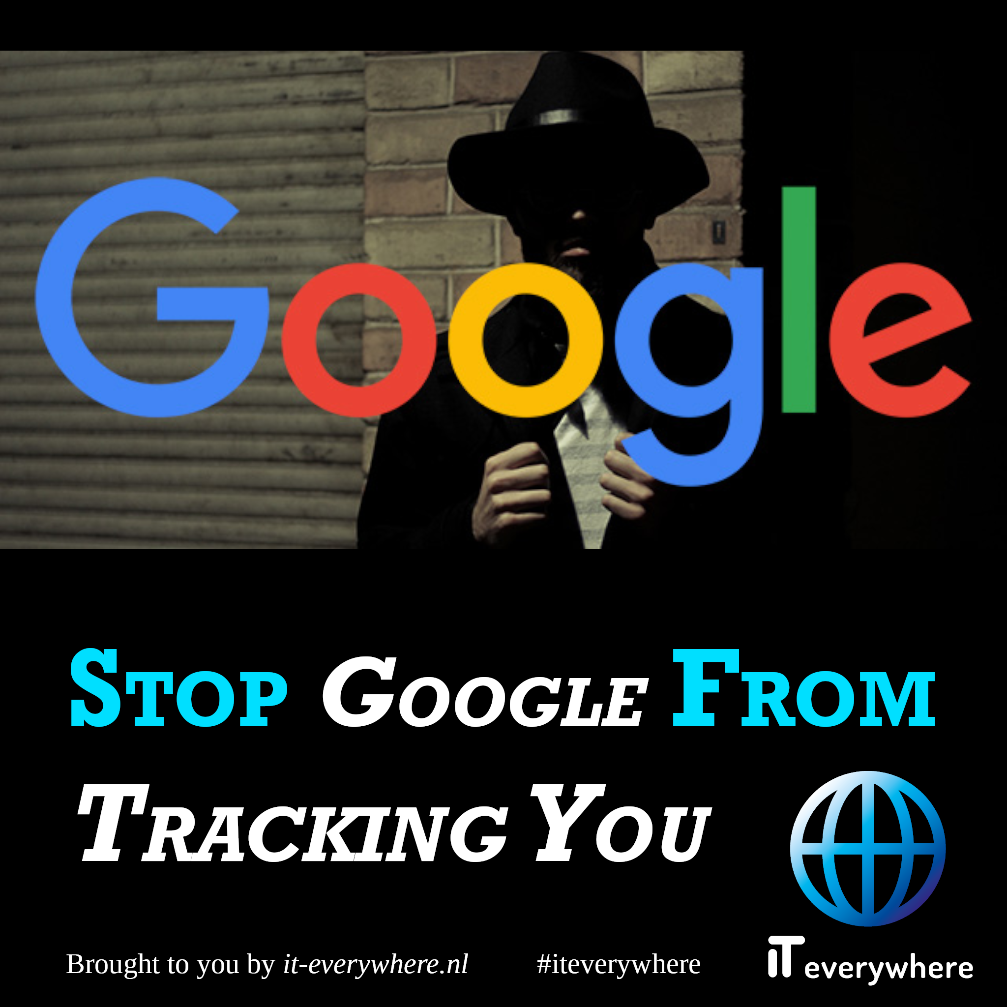 Laat trackers je niet volgen
