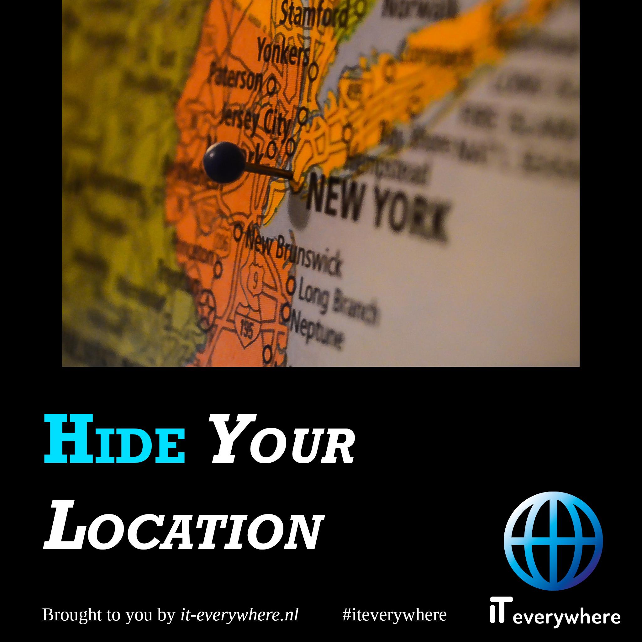 Verberg je locatie (IP-adres)