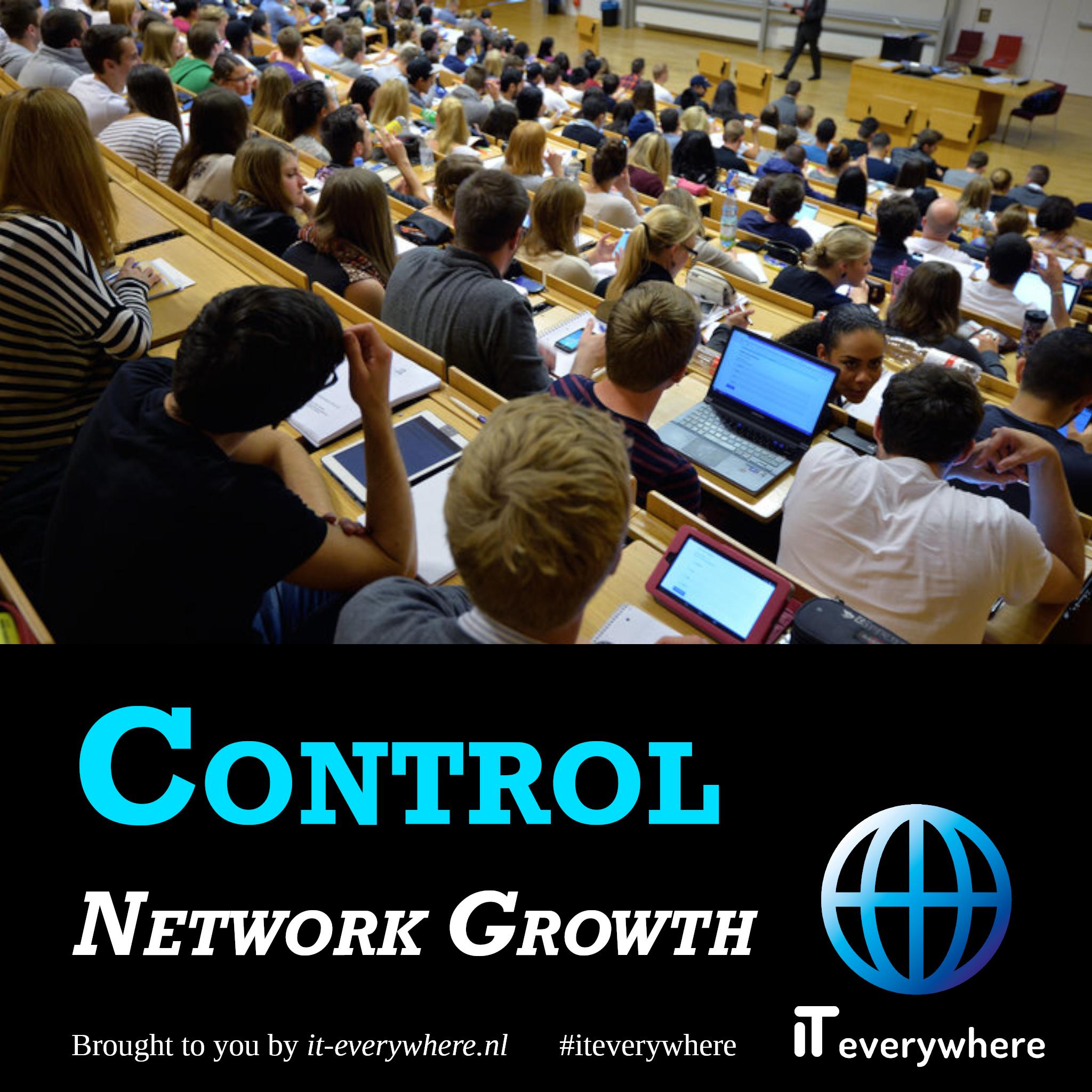 Met behulp van subnets controleer je gemakkelijk de groei van je netwerk