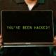 Je bent gehackt